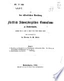 Grundlage zur Kenntniss der um Sondershausen vorkommenden Käfer