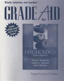 Grade Aid Workbook for Psychology