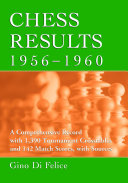 Chess Results  1956 1960 Team Matches 1956 Through 1960 With