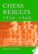 Chess Results, 1956-1960
