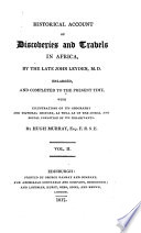 Historical Account of Discoveries and Trabels in Africa