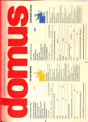 Domus  monthly review of architecture interiors design art