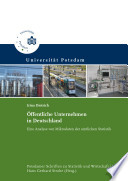 Öffentliche Unternehmen in Deutschland