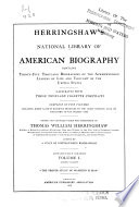 Herringshaw s National Library of American Biography