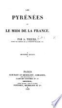 Les Pyrénées et le Midi de la France, pendant les mois de novembre et décembre 1822