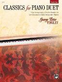 Classics for Piano Duet