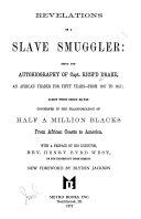 Revelations of a slave smuggler