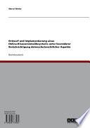 Entwurf und Implementierung eines Online-Klausuranmeldesystems unter besonderer Berücksichtigung datenschutzrechtlicher Aspekte