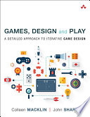 Games  Design and Play