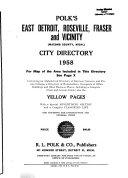 East Detroit City Directories