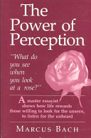 The Power of Perception