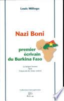 Nazi Boni  premier   crivain du Burkina Faso