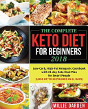 The Complete Keto Diet For Beginners 2018