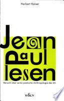 Jean Paul lesen