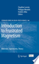 Introduction to Frustrated Magnetism