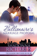 download ebook the billionaire's marriage proposal (the romero brothers, book 8) pdf epub