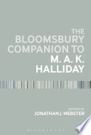 The Bloomsbury Companion to M  A  K  Halliday