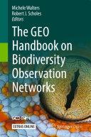 The GEO Handbook on Biodiversity Observation Networks Book
