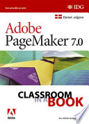 PageMaker 7 0 Classroom in a Book