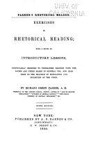 download ebook exercises in rhetorical reading pdf epub