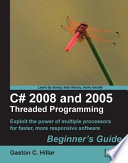 C 2008 And 2005 Threaded Programming book