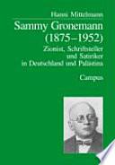 Sammy Gronemann (1875-1952)