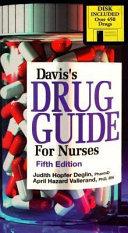 Davis s Drug Guide for Nurses