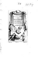 Le Décaméron, 3 tomes