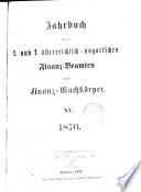 Jahrbuch für die k. k. österreichisch-ungarischen Finanzbeamten, dann für die Finanzwache