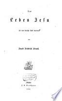 Leben Jesu f  r das Deutsche Volk bearbeitet