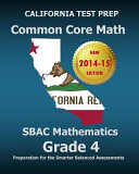 California Test Prep Common Core Math Sbac Mathematics Grade 4