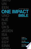 NIV  One Impact Bible  eBook