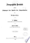Stenographische Protokolle über die Sitzungen des Hauses der Abgeordneten des Österreichischen Reichsrates