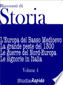 Riassunti di Storia   Volume 4