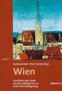 Wien: Von den Anfängen bis zur ersten Wiener Türkenbelagerung (1529)