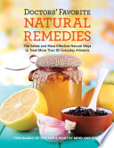 Doctors  Favorite Natural Remedies