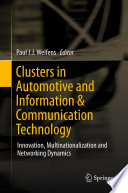 Clusters In Automotive And Information Communication Technology