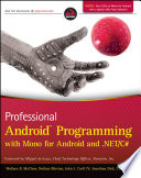 Professional Android Programming With Mono For Android And Net C