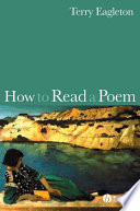 Ebook How to Read a Poem Epub Terry Eagleton Apps Read Mobile