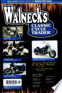 WALNECK'S CLASSIC CYCLE TRADER, AUGUST 2001