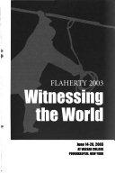 Flaherty 2003