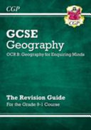 New Grade 9 1 GCSE Geography OCR B  Geography for Enquiring Minds   Revision Guide
