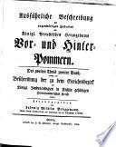 Ausführliche Beschreibung des gegenwärtigen Zustandes des Königl. Preußischen Herzogthums Vor- und Hinter-Pommern