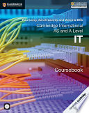 Cambridge International AS and A Level IT Coursebook with CD ROM
