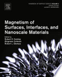 Magnetism of Surfaces  Interfaces  and Nanoscale Materials