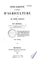 Cours raisonn   et pratique d agriculture et de chimie agricole