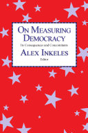 On Measuring Democracy