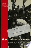 War And Social Change