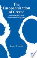 The Europeanization of Greece