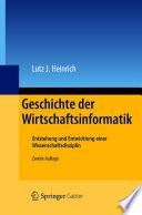Geschichte der Wirtschaftsinformatik